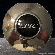 Vintage~EPIC WHEELS Luxury Chrome Wheel/RIM Center Cap # 991-0710, 899084 (1 ea)