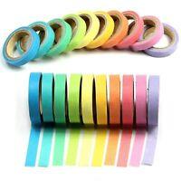 Washi Tape Roll Sticky Paper Masking Adhesive Book Photo Craft Decorative Gift