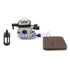Carburetor for Stihl FS310 HS45 Trimmer Part 42281200608 Air filter Fuel filter