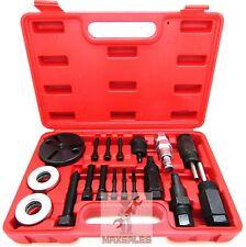 18pc A/C Compressor Clutch Hub Remover Kit GM Ford Chrysler Sanden DKS Puller