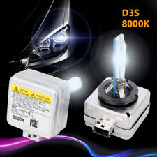 2X D3S 35W Headlights Xenon HID Bulbs 8000K Replacement For Ford Land Rover Jeep