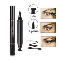 Black Waterproof Winged Eyeliner Stamp Women Makeup Cosmetic Eye Pencil Liquid