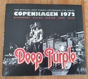 "DEEP PURPLE ""LIVE Copenhagen 1972"" (CD) HARD-ROCK"