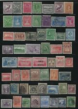 NEWFOUNDLAND - USED STAMPS LOT QUEEN VICTORIA SEAL CARIBOU PRINCE ALBERT TRAIN