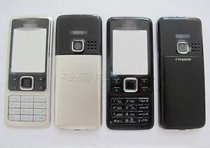 NEW Front Bezel Back Housing Battery Door Cover Case keypad For Nokia 6300
