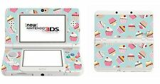 Cupcakes Vinyl Skin Sticker for Nintendo 3DS (with C Stick) 3ds3