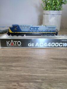Kato N Scale AC4400, as new, run twice, DCC ready