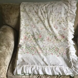 Vintage Dorma Country Diary Collection Frilled Duvet Cover Single