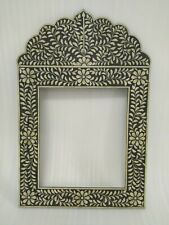 Bone Inlay Mirror Frame Furniture Home Decor Mirror Frames Rustic Distressed