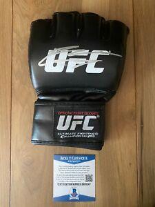 Nate Diaz Signed UFC Glove COA Beckett #BA09247 Autographed