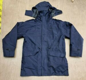 NEW Churchill MADE IN ENGLAND 3 in 1 Navy Blue Foul Weather Jacket Size Large UK