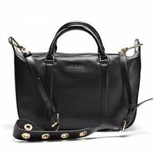 NWT Michael Kors Raven Large Satchel Leather Black 30F6GRXS2L Crossbody Dust Bag