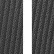 """CARBON FIBRE Bonnet Stripes Viper Style 3m(10') x12.5cm(5"""") fits NISSAN (02)"""