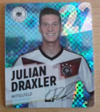 REWE Glitzer WM 2014 Sammelkarte/Glitzerkarte Nr. 22 Julian Draxler -
