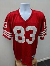 Vintage Champion NFL Jersey, JJ Stokes 1995, San Francisco 49ers.  XL Size 44