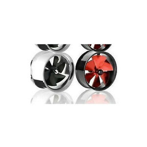 Ear Plug Stainless, Expander, Stretcher Tunnel, Wind Turbine Fan That Spins UK!!