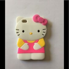 Hello kitty 3D Pink Ipod Touch 4 4th Generation Soft Silicone Case Cover