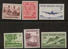 COCOS (KEELING) est. SG1/6 1963 Definitives MTD Comme neuf
