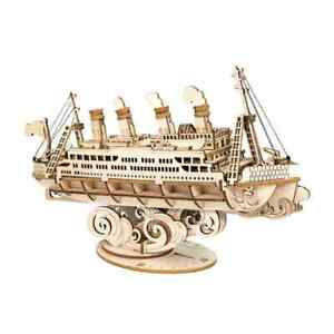 3D Wooden Puzzle -  Cruise Ship  -  by Hands Craft