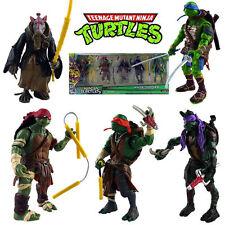 5 x TMNT Ninja Turtles Action Figure Display Cake Topper Decor Figurines Set Toy
