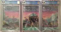 Ogre 1, 2, 3 CGC 9.8 Ltd To 15 Trade Connecting Cover Set! Source Point Press