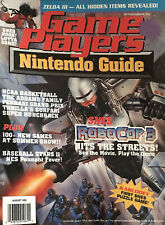 Game Players Nintendo Guide Magazine August 1992