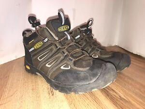 KEEN Oakridge Waterproof Mid Big Kids Youth Size 3 Hiking Boots 1015179