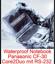 Extreme Resistentes Notebook Panasonic Cf-30 Notebook Wlan Touch Screen Rs 232