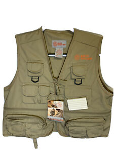 Youth XL Master Sportsman Fishing Vest Rigged Outdoor Gear Fly Fishing 26 Pocket