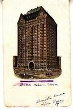 DC01. Antique Undivided Postcard. Masonic Temple, Chicago. Ill. Posted Algers