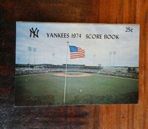 1974 NEW YORK YANKEES VS NEW YORK METS SPRING TRAINING PROGRAM MUNSON SEAVER FL
