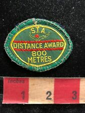 Vintage Swim Patch STA DISTANCE AWARD 800 Metres 800 Meters S83E