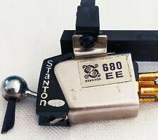 Stanton 680 EE Testina e Puntina Con Shell zeepa Hi-fi Vintage giradischi vinile