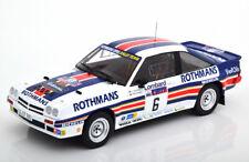 PROMO !!! 1:18 IXO Opel Manta 400 No. 6, RAC A. VATANEN 1983 Rothmans #18RMC038B