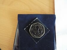 UK 2007 50p Scouting Centenary - 1907-2007 - Be Prepared!