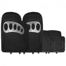 RM503 Heavy Duty Metallic CARBON/BLACK Rubber Floor Mats MC18/02