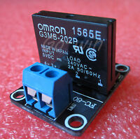 10pcs 5v 1 Channel OMRON SSR G3MB-202P Solid State Relay Module For Arduino