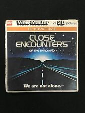 CLOSE ENCOUNTERS OF THE THIRD KIND 1977 MOVIE COMPLETE VIEW-MASTER SET