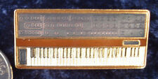 DIGITAL PIANO or KEYBOARD SYNTH JACKET TIE or  HAT PIN