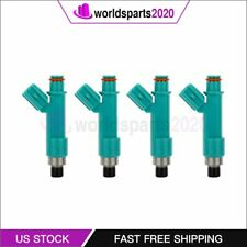4 Fuel Injectors for Toyota Camry Corolla Highlander 2.4L 23250-0H060 842-12303