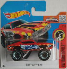 Hot Wheels - Oldsmobile / Olds 442 W-30 rot Neu/OVP