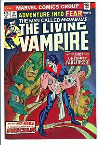Fear #21 NM Marvel Bronze Age Early Morbius Appearance (2022 Movie) Stamp Intact
