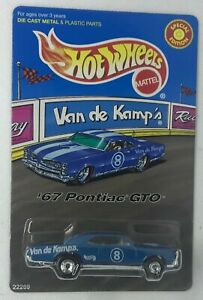 1998 Hot Wheels Van De Kamp's '67 Pontiac GTO Special Edition Rare 22269
