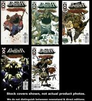 Punisher Presents: Barracuda Max 1-5 Marvel 2007 Complete Set Run Lot 1-5 VF/NM