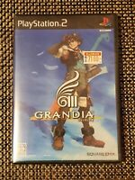 Grandia III 3 Japan Import PS2, Playstation 2 - Brand New Factory Sealed