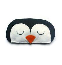 Lindo Pingüino Pájaro Diversión Gracioso Dulce Regalo Adulto Máscara De Ojo Dormir Animal Kids
