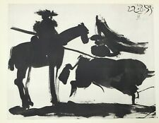 Pablo Picasso Lithograph Toreros First Edition Cape Work 1961 Rare