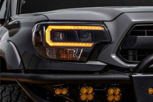 MORIMOTO XB HYBRID AMBER LED HeadLights For 2012-2015 Toyota Tacoma Pickup Truck