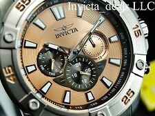 Invicta Men's Pro Diver Ocean Cruiser Swiss ISA Multifunction Rose Dial SS Watch