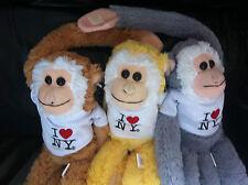 I Love NY Toy Monkey - Peace Love Joy!
